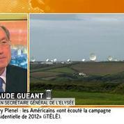 Écoutes de la NSA : «Une rupture du pacte de confiance» pour Guéant