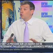 Nicolas Doze : L'Etat sanctionne les communes qui n'ont pas atteints le quota de logements sociaux.