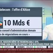 Altice confirme son offre de rachat sur Bouygues Telecom pour 10 Milliards d'euros: Nathalie Pelras –