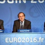 Fifa: Platini refuse de se prononcer pour le moment sur son avenir personnel