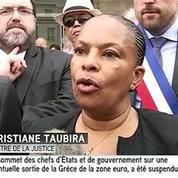 Brétigny : Christiane Taubira annonce plus de moyens pour faire avancer l'enquête