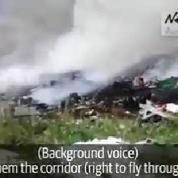 Crash du MH17 : une vidéo fait scandale, un an après
