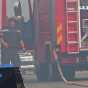 Croatie : Bénévoles et militaires luttent contre un vaste incendie