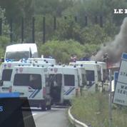 Les marins de SeaFrance bloquent l'accès au port de Calais