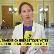 Royal: J'ai voulu doter la France du futur modèle énergétique