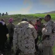 L'émouvant retour à la liberté de 34 Yézidis prisonniers de Daech