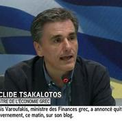 Grèce : le nouveau ministre des Finances salue le bilan de Varoufakis