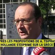 Hollande juge les réformes grecques sérieuses et crédibles