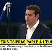 Grèce : l'essentiel du discours d'Alexis Tsipras devant le Parlement européen