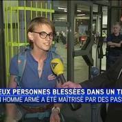 Attaque du Thalys : une passagère raconte