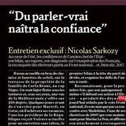 Nicolas Sarkozy lance un appel du pied aux électeurs FN