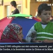 En Macédoine, la police débordée par des réfugiés