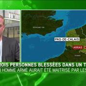 Coups de feu à bord d'un Thalys à Arras