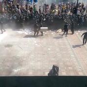 Ukraine : explosion devant le parlement à Kiev