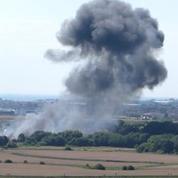 Crash d'un avion lors d'un meeting à Brighton