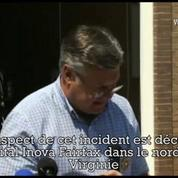 Tuerie à l'antenne : le shérif du comté confirme la mort du suspect