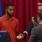 Les 4 «héros du Thalys» ont été décorés de la Légion d'honneur