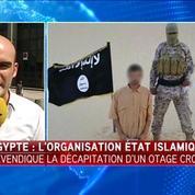L'EI affirme avoir décapité l'otage croate en Egypte