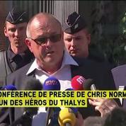 Chris Norman, l'un des héros du Thalys, raconte l'attaque