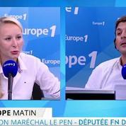 Maréchal-Le Pen pas favorable à la présence de son grand-père à Marseille