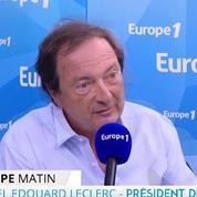Gaspillage alimentaire : Edouard Leclerc dénonce «un coup médiatique»