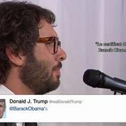 Un humoriste chante les pires tweet de Donald Trump