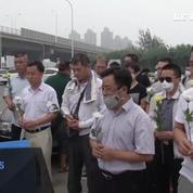 Explosions à Tianjin : la Chine rend hommage à ses victimes