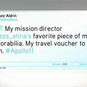 Voyage sur la Lune : Aldrin révèle sa note de frais d'Apollo 11