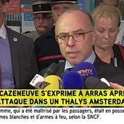 Le ministre de l'Interieur réagit aux coups de feu dans le Thalys