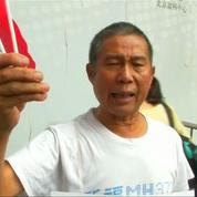 Identification du flaperon du MH370 : la détresse des proches