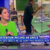 Grèce : des élections marquées par une abstention record