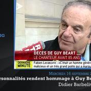 Décès de Guy Béart : des personnalités lui rendent hommage