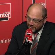 Schulz juge «bizarre» l'alliance de Syriza