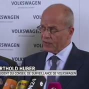 Moteurs truqués : le patron de Volkswagen démissionne