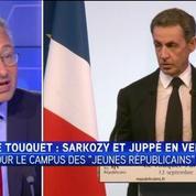 Au Touquet, N.Sarkozy assume ses positions sur l'immigration