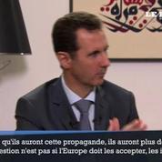 Assad aux pays occidentaux : «Arrêtez de soutenir les terroristes»