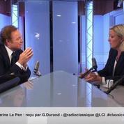 Marine Le Pen sur son père : «C'est notre petite Femen personnelle»