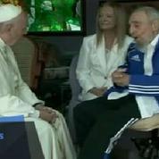 A Cuba, le pape François rencontre Fidel Castro
