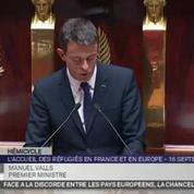 Valls envisage un retour temporaire des contrôles aux frontières