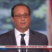 Hollande veut des «centres d'enregistrement» pour les migrants