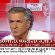Accueil de migrants : «J'aimerais que la France fasse davantage» (BHL)