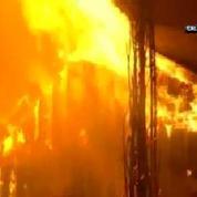 La Californie touchée par de violents incendies depuis samedi
