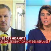 N. Dupont-Aignan : Le système Schengen explose sous nos yeux