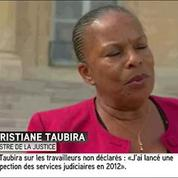 Emplois au noir : Christiane Taubira s'explique
