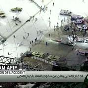 Au moins 87 morts dans la chute d'une grue à la Grande mosquée