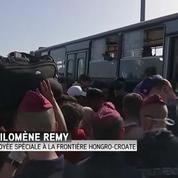 Confusion totale pour les réfugiés à la frontière hongro-croate