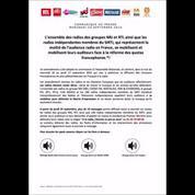 Les radios diffusent le numéro de Matignon pour protester contre un amendement