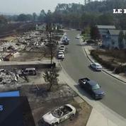 Californie : une ville en partie détruite par les incendies