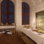 Visite à 360° de la salle des banquets du chateau de Chambord
