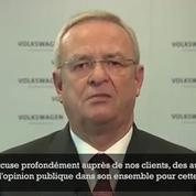 Scandale Volkswagen : le PDG se dit «infiniment désolé»
